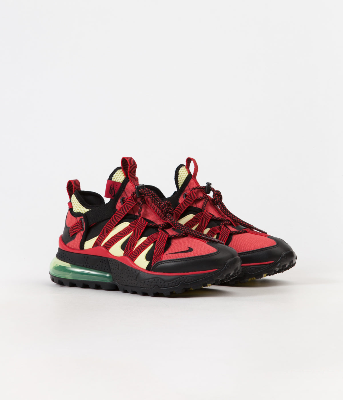 84322c094d ... Nike Air Max 270 Bowfin Shoes - Black / Black - University Red - Light  Zitron ...