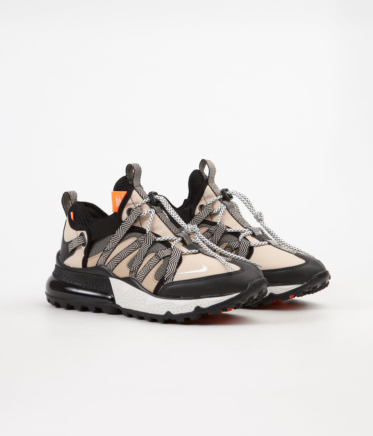buy popular ef2d7 fce07 Nike Air Max 270 Bowfin Shoes - Black / Phantom - Desert ...