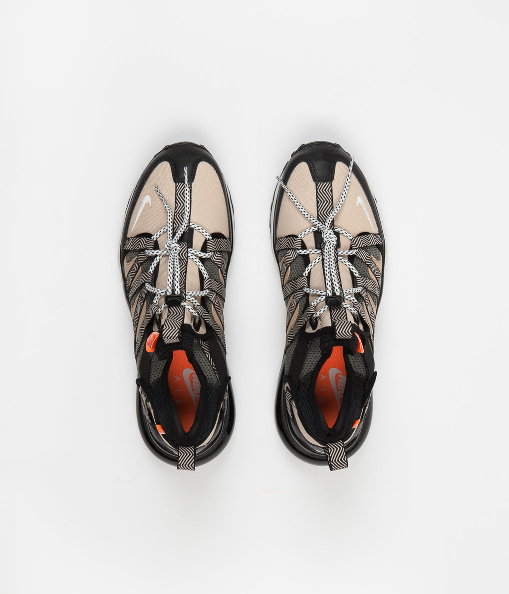 Nike Air Max 270 Bowfin Shoes - Black / Phantom - Desert - Cone