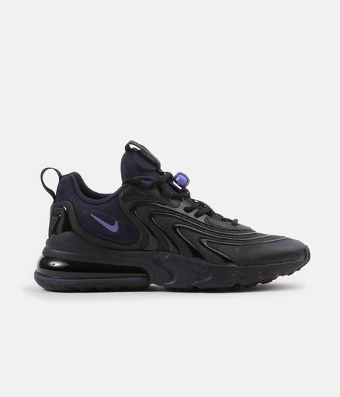 Nike Air Max 270 React ENG Shoes - Black / Sapphire - Obsidian