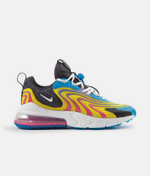 Nike Air Max 270 React ENG Shoes - Laser Blue / White - Anthracite - Watermelon
