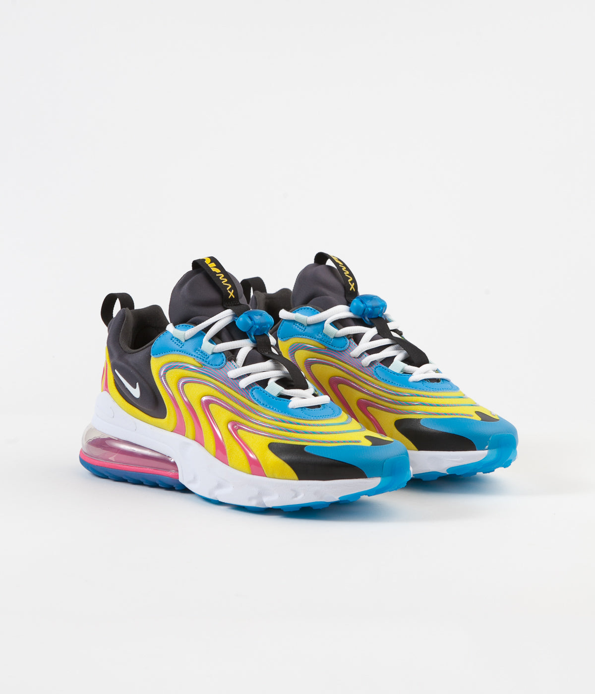 Nike Air Max 270 React Eng Shoes Laser Blue White Anthracite