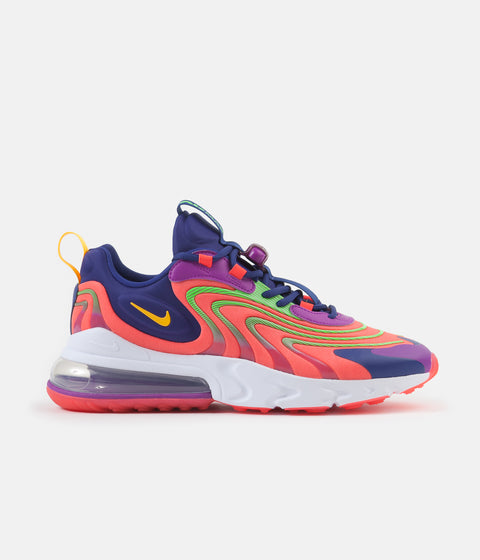 Nike Air Max 270 React ENG Shoes - Laser Crimson / Laser Orange