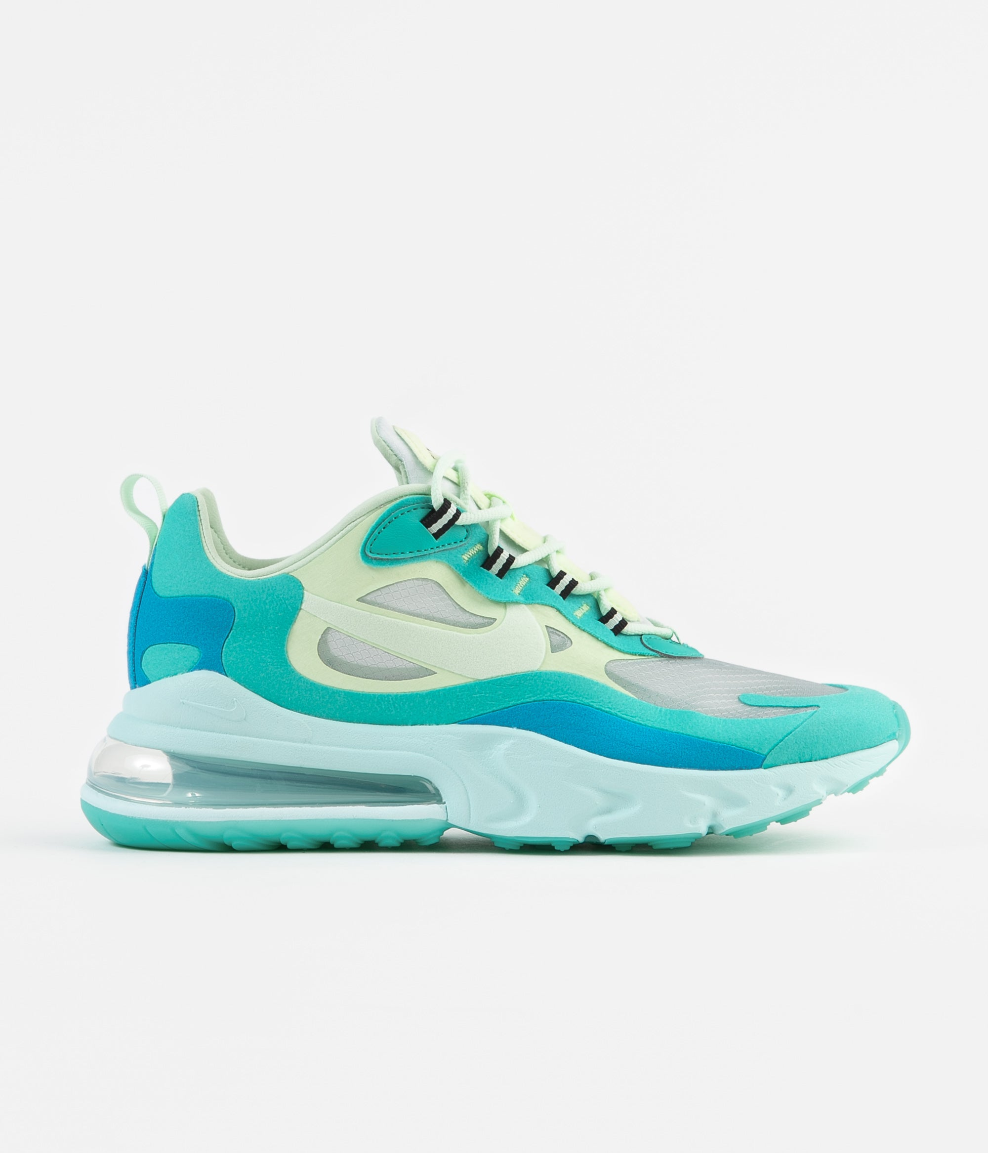 Nike Air Max 270 React Hyper JadeFrosted Spruce Barely Volt New Sale