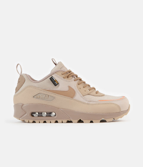 Nike Air Max 90 Surplus Shoes - Desert / Desert Camo - Safety Orange