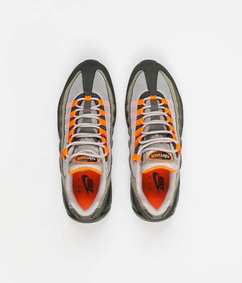premium selection f7589 30234 ... Nike Air Max 95 OG Shoes - String  Total Orange - Neutral Olive ...
