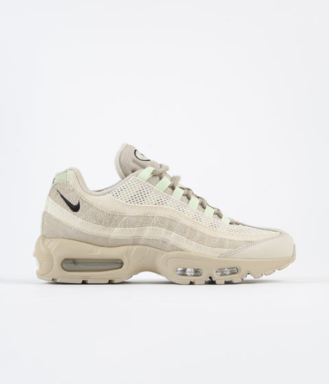 Nike Air Max 95 Premium Shoes - Grain / Black - Bleach - Coconut Milk