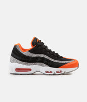 Nike Air Max 95 Shoes - Black / Black - Granite - Safety Orange