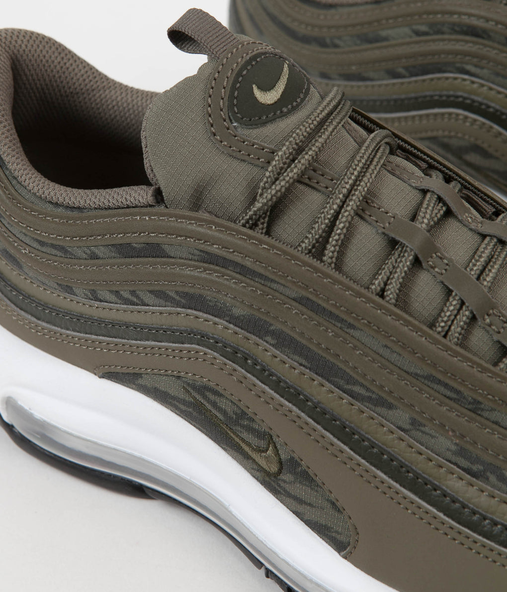 Nike Air Max 97 AOP Shoes - Medium Olive / Medium Olive - Sequoia - Black