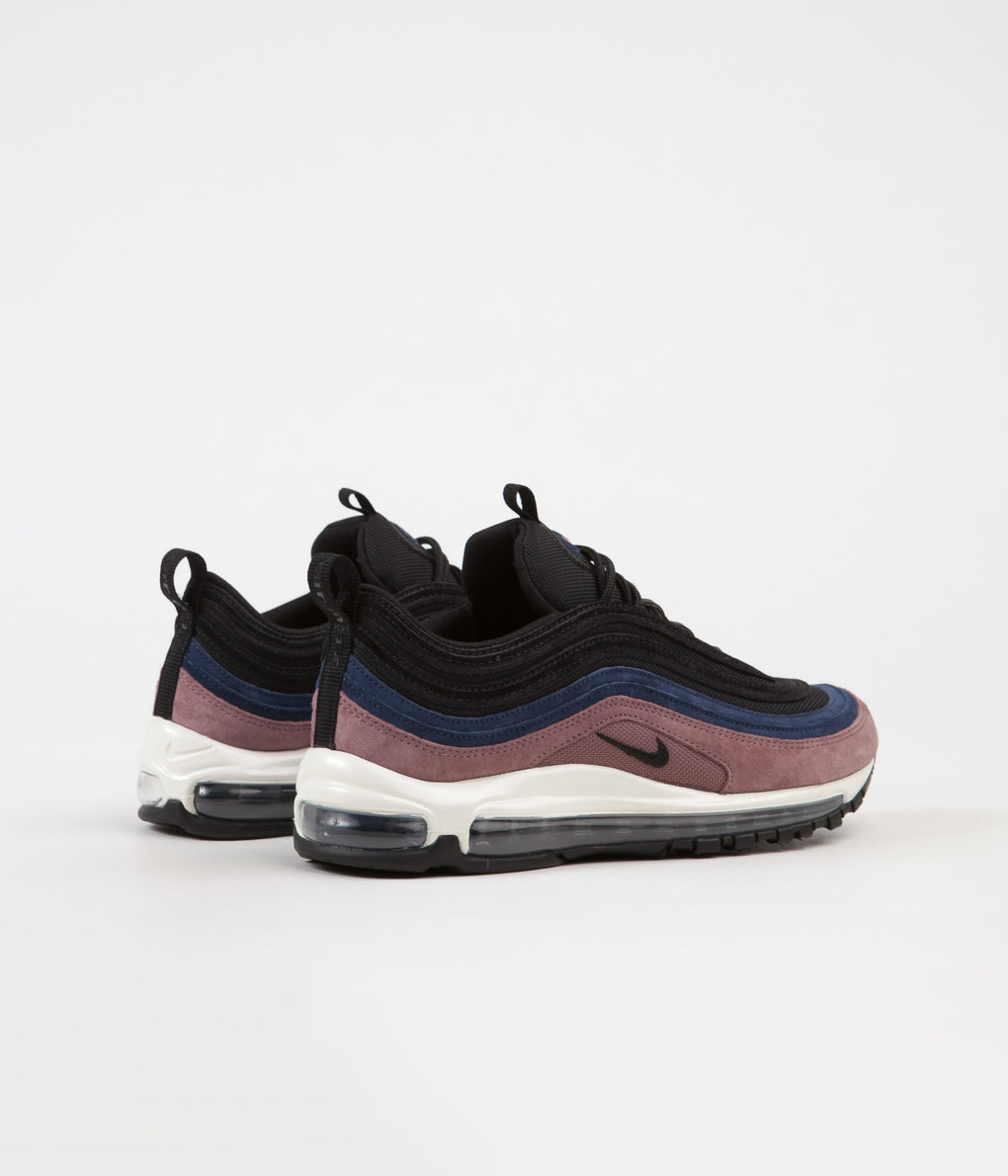 Nike Air Max 97 Premium Shoes - Smokey Mauve / Black - Midnight Navy - Sail