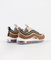 Nike Air Max 97 Shoes - Ale Brown / Black - Elemental Gold
