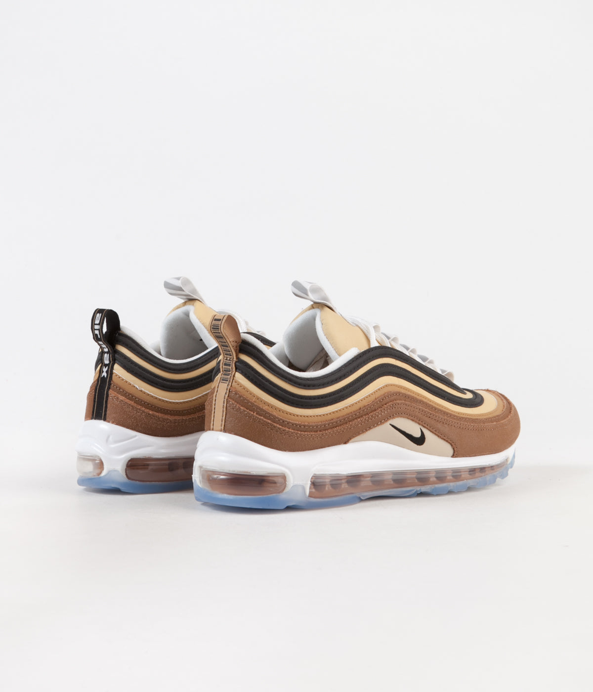 competitive price 6516d a68bb ... Nike Air Max 97 Shoes - Ale Brown  Black - Elemental Gold ...