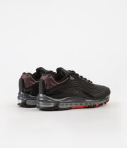 Nike Air Max Deluxe SE Shoes - Black / Anthracite - Bright Crimson
