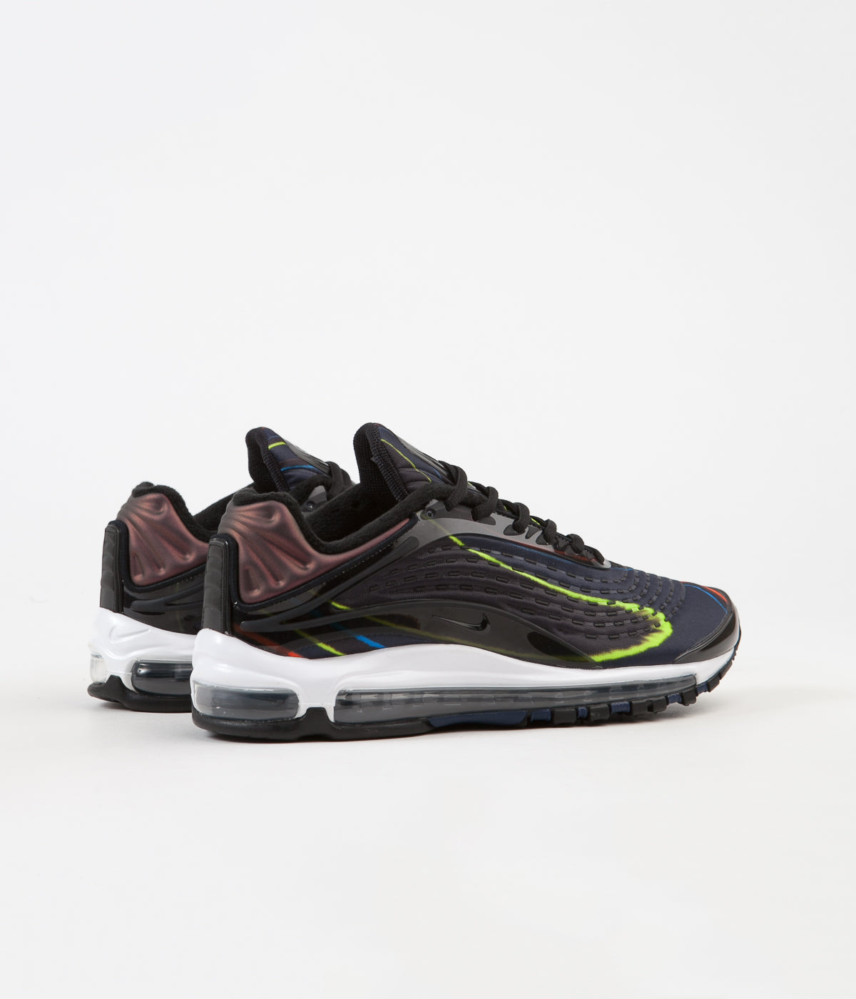 huge discount 9db5f c930c ... Nike Air Max Deluxe Shoes - Black   Black - Midnight Navy - Reflect  Silver ...