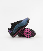 Nike Air Max Deluxe 'Throwback Future' Shoes - Black / Laser Fuchsia
