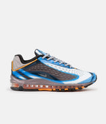 Image for Nike Air Max Deluxe Shoes - Photo Blue / Wolf Grey - Orange Peel - Black