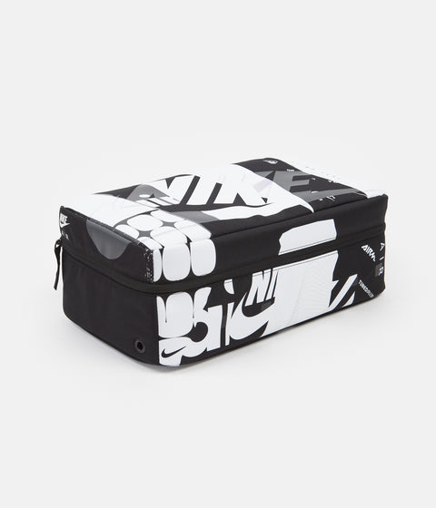 Nike Air Max Shoe Box Bag - Black / Black / White