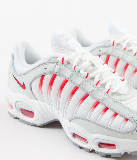 Nike Air Max Tailwind IV Shoes - Ghost Aqua / Red Orbit - Wolf Grey