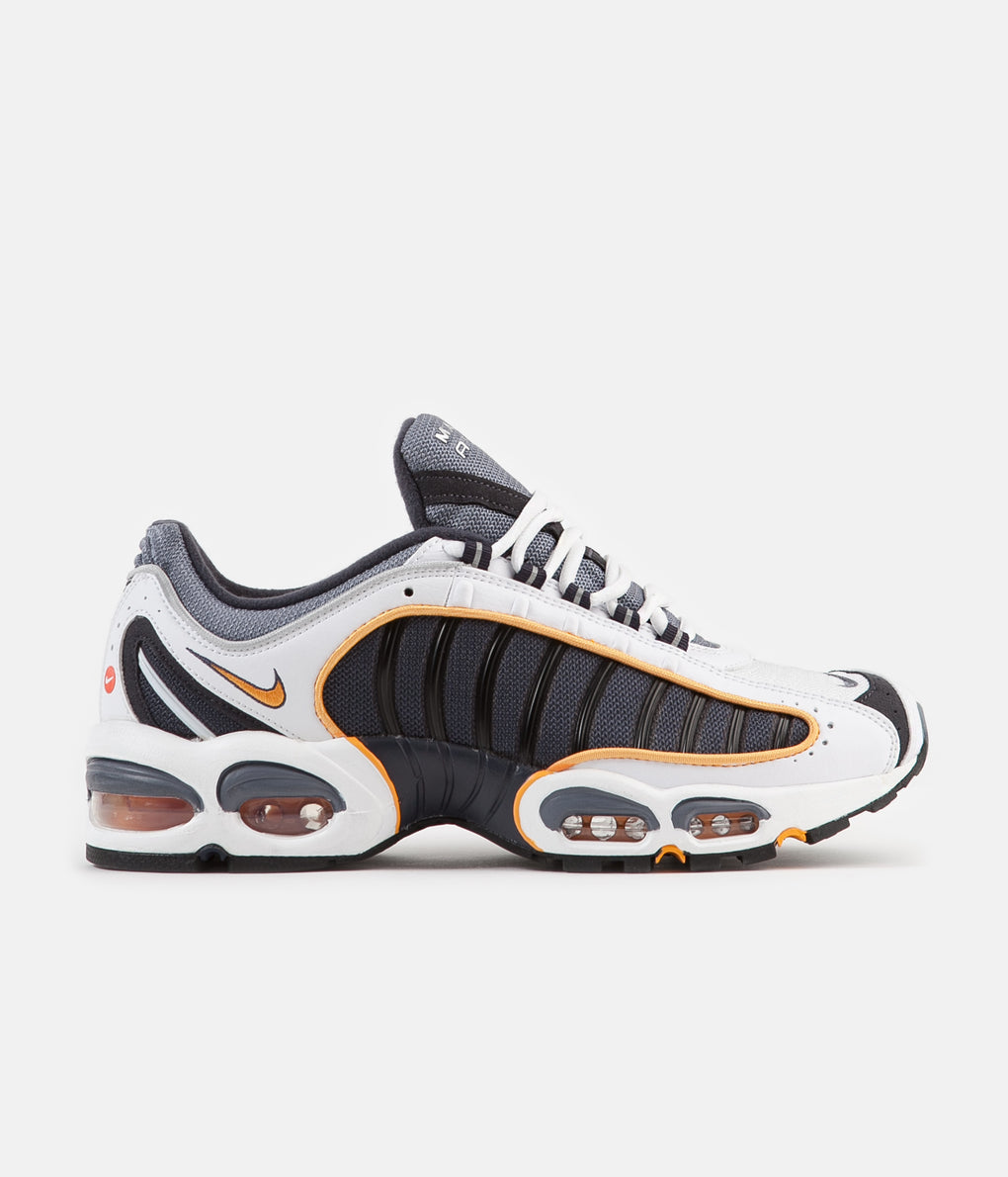 Nike Air Max Tailwind IV Shoes - Metro Grey / White - Resin - White