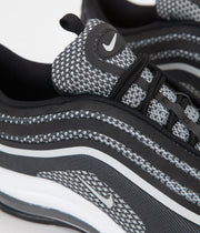 Nike Air Max 97 Ultra '17 Shoes  - Black / Pure Platinum - Anthracite - White