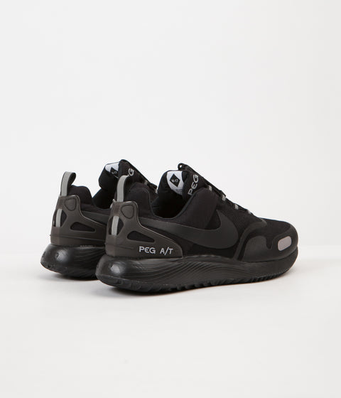 Nike Air Pegasus A/T Winter Shoes - Black / Black - Wolf Grey