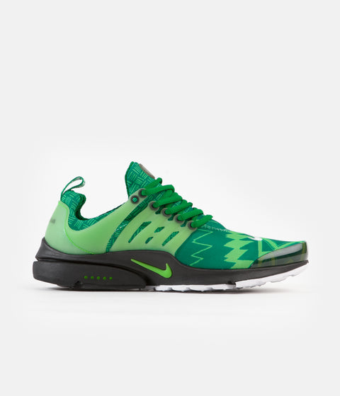 Nike Air Presto Shoes - Pine Green / Green Strike - Black - White