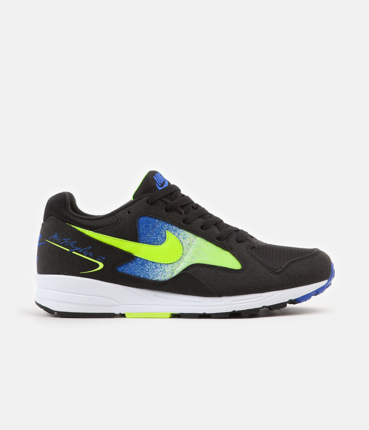 detailed look 0e206 0e272 ... Nike Air Skylon II Shoes - Black / Volt - Racer Blue - White ...