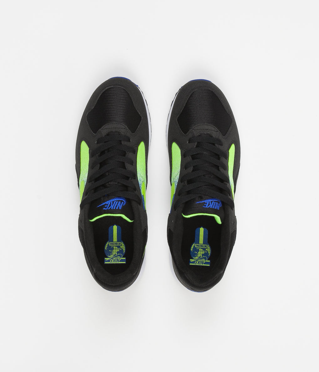 Nike Air Skylon II Shoes - Black / Volt - Racer Blue - White