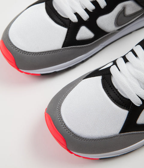 Nike Air Span II Shoes - Black / Dust - Solar Red - White