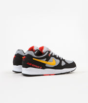 Nike Air Span II Shoes - Black / Yellow Ochre - Wolf Grey