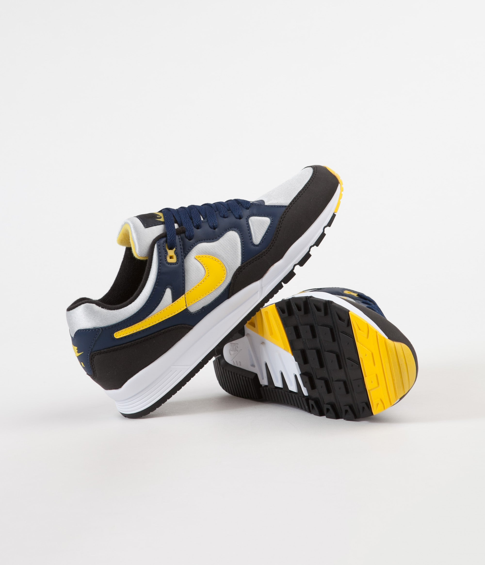 info for d733a 2455d ... Nike Air Span II Shoes - Midnight Navy   Tour Yellow - Black ...
