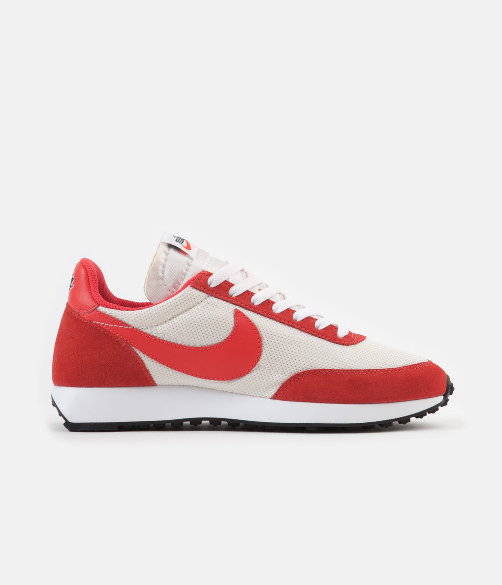 Nike Air Tailwind 79 Shoes - Sail / Track Red - White - Habanero Red