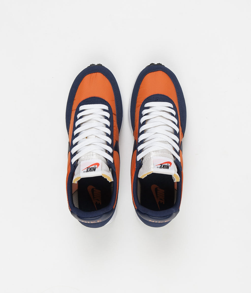Nike Air Tailwind 79 Shoes - Starfish / Midnight Navy - White - Black
