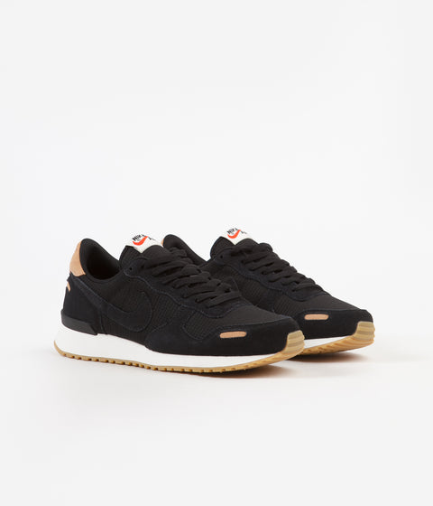 Nike Air Vortex Leather Shoes - Black / Black - Praline - Sail