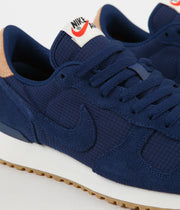 Nike Air Vortex Leather Shoes - Blue Void / Blue Void - Praline - Sail