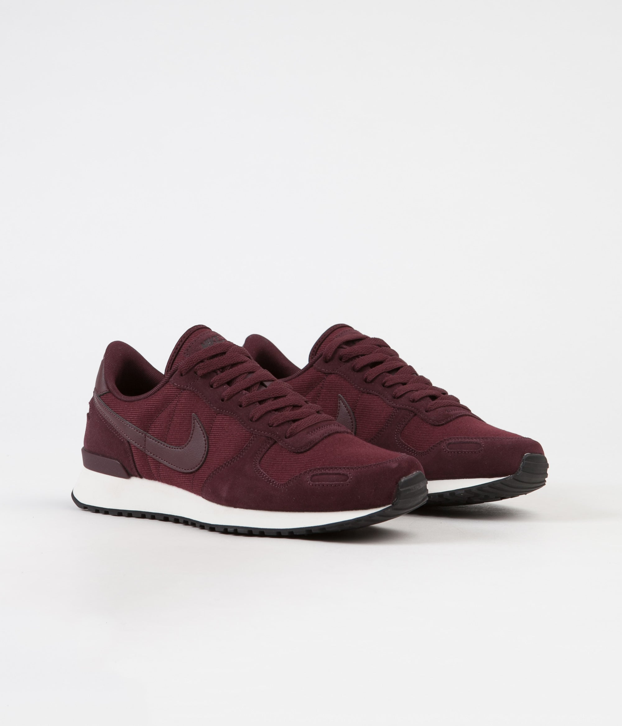 size 40 6b450 d4b87 ... Nike Air Vortex Leather Shoes - Burgundy Crush  Burgundy Crush - Sail  - Black ...