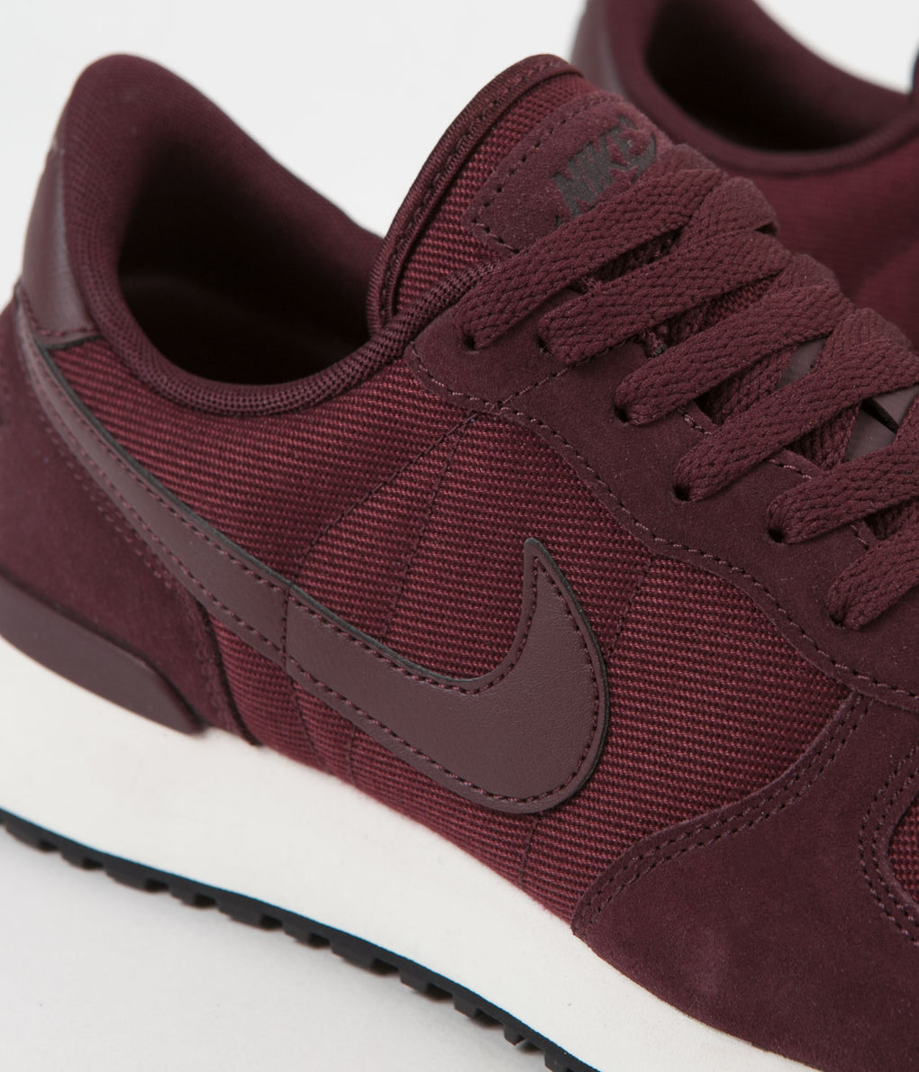 Nike Air Vortex Leather Shoes - Burgundy Crush / Burgundy Crush - Sail - Black