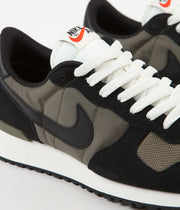 Nike Air Vortex Shoes - Black / Black - Medium Olive - Sail