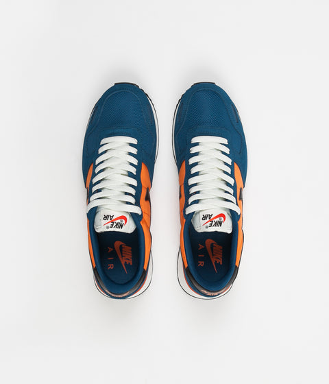 Nike Air Vortex Shoes - Blue Force / Black - Clay Orange -Sail