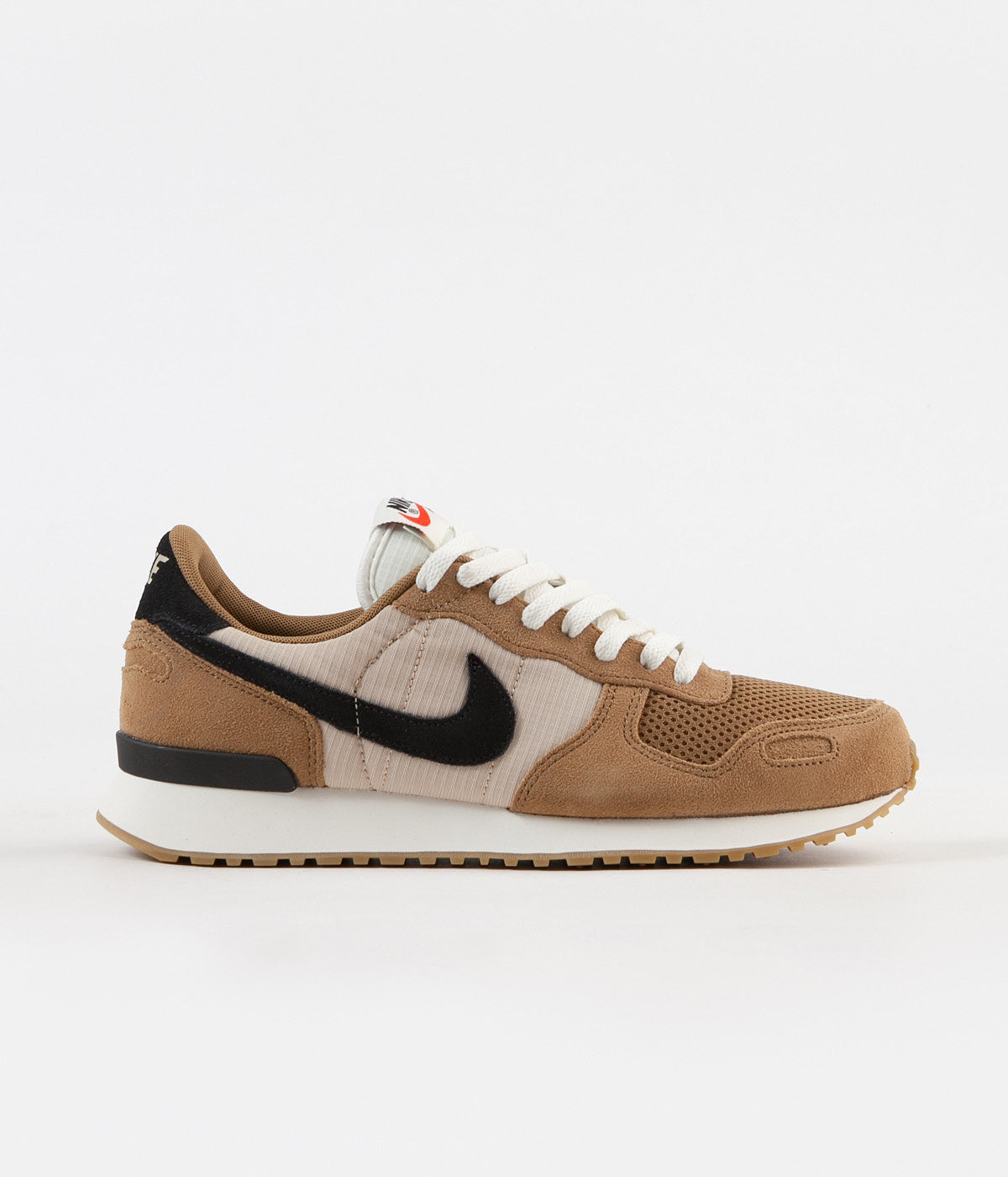 Nike Air Vortex Shoes - Golden Beige / Black - Desert Ore - Sail ...