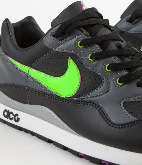 a2c7d52f7a7f ... Nike ACG Air Wildwood Shoes - Black   Electric Green - Hyper Violet ...