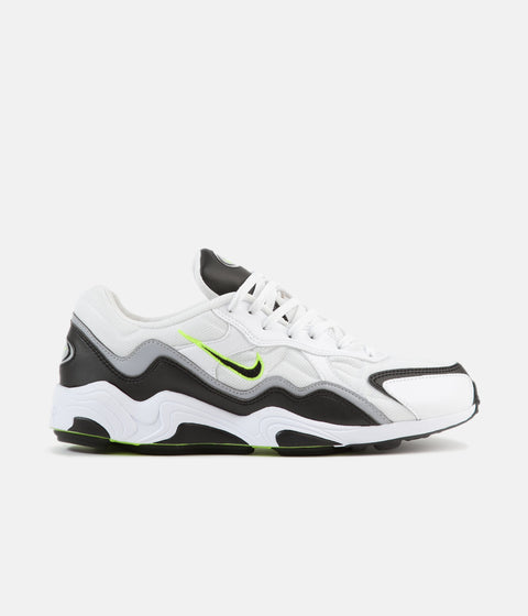 size 40 730f6 14179 Nike Air Zoom Alpha Shoes - Black   Volt - Wolf Grey - White