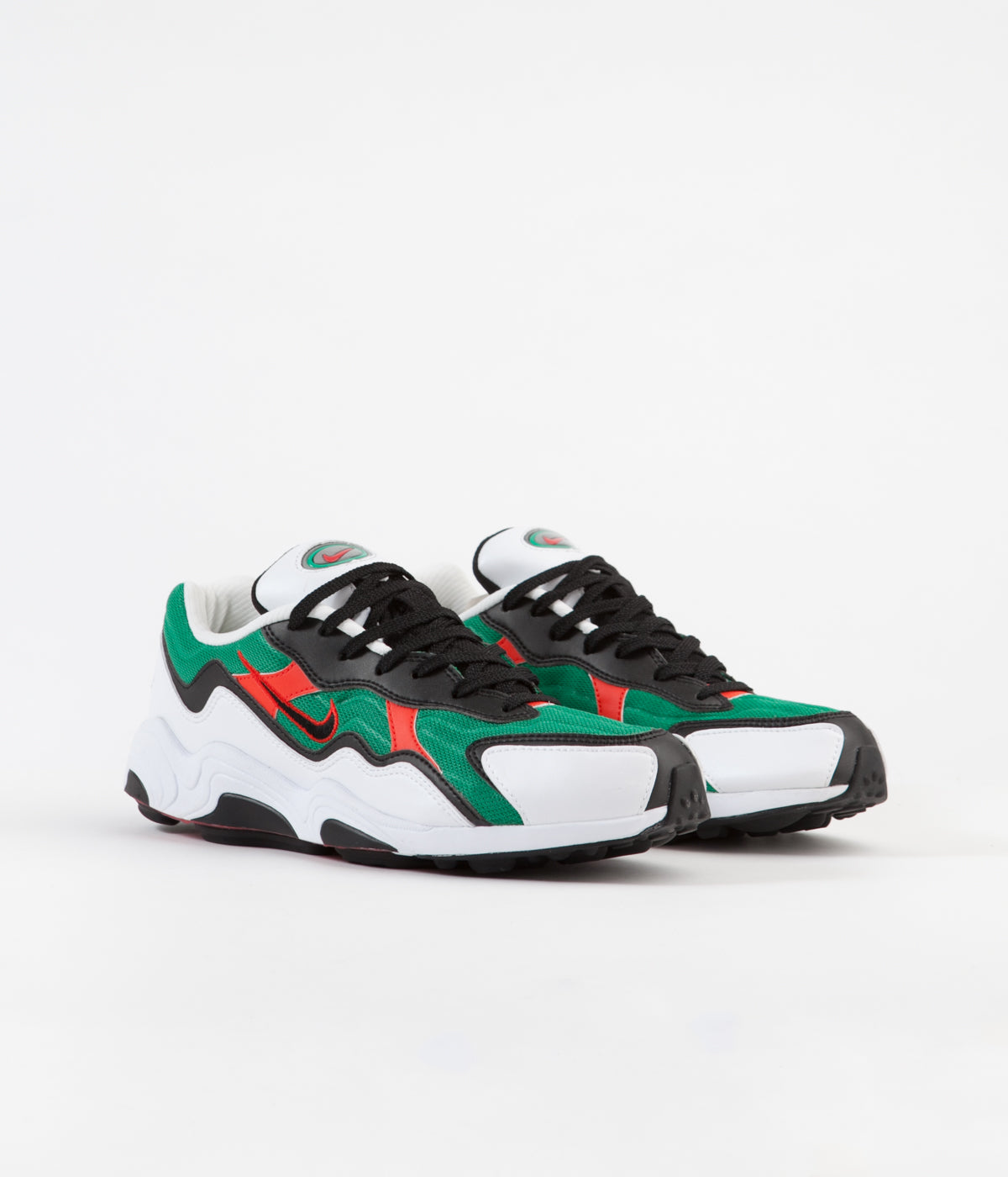Nike Air Zoom Alpha Shoes Lucid Green Habanero Red