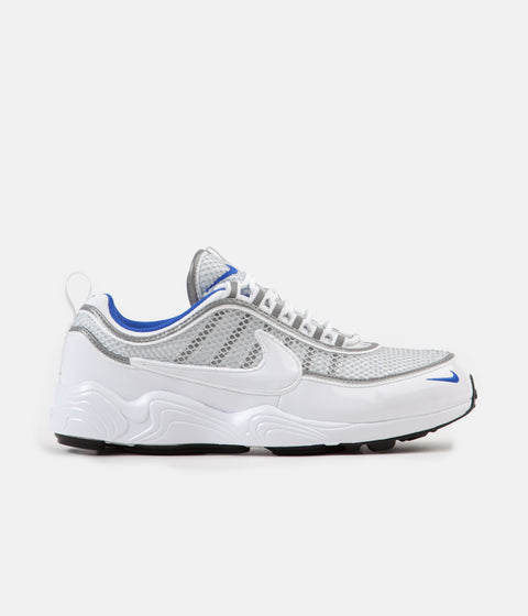 Nike Air Zoom Spiridon '16 Shoes - White / White - Pure Platinum - Racer Blue