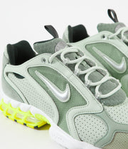 Nike Air Zoom Spiridon Cage 2 Shoes - Pistachio Frost / Metallic Silver