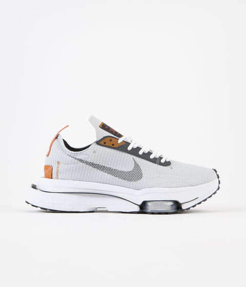 Nike Air Zoom-Type SE Shoes - Grey Fog / Dark Smoke Grey - Campfire Orange