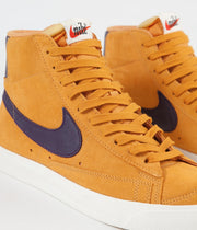 Nike Blazer '77 Shoes - Amber Rise / Grand Purple - Sail