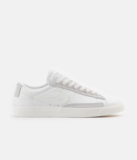 Nike Blazer Low Leather Shoes - White / Sail - Platinum Tint