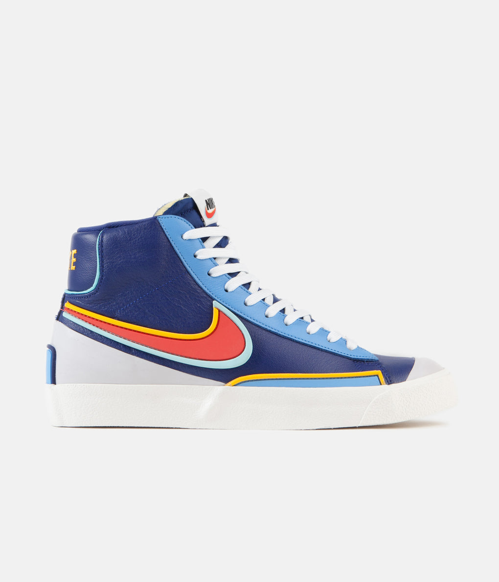 Nike Blazer Mid '77 Infinite Shoes - Deep Royal Blue / Chile Red - Copa