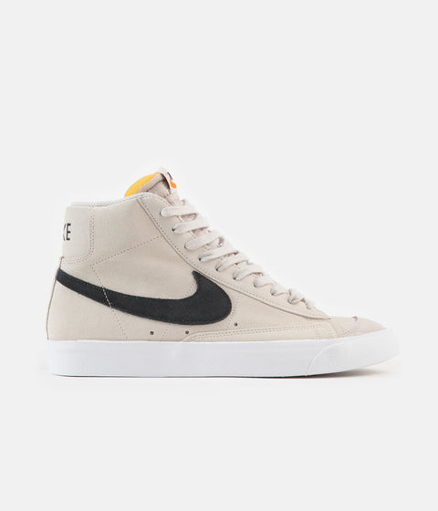 Nike Blazer Mid '77 Suede Shoes - Light Orewood Brown / Black - White